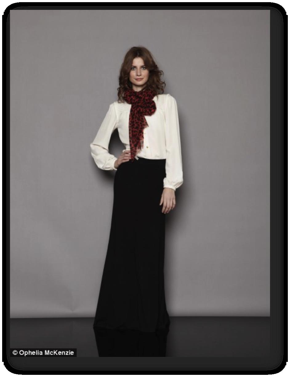 marvellous maxi skirt office outfit ideas