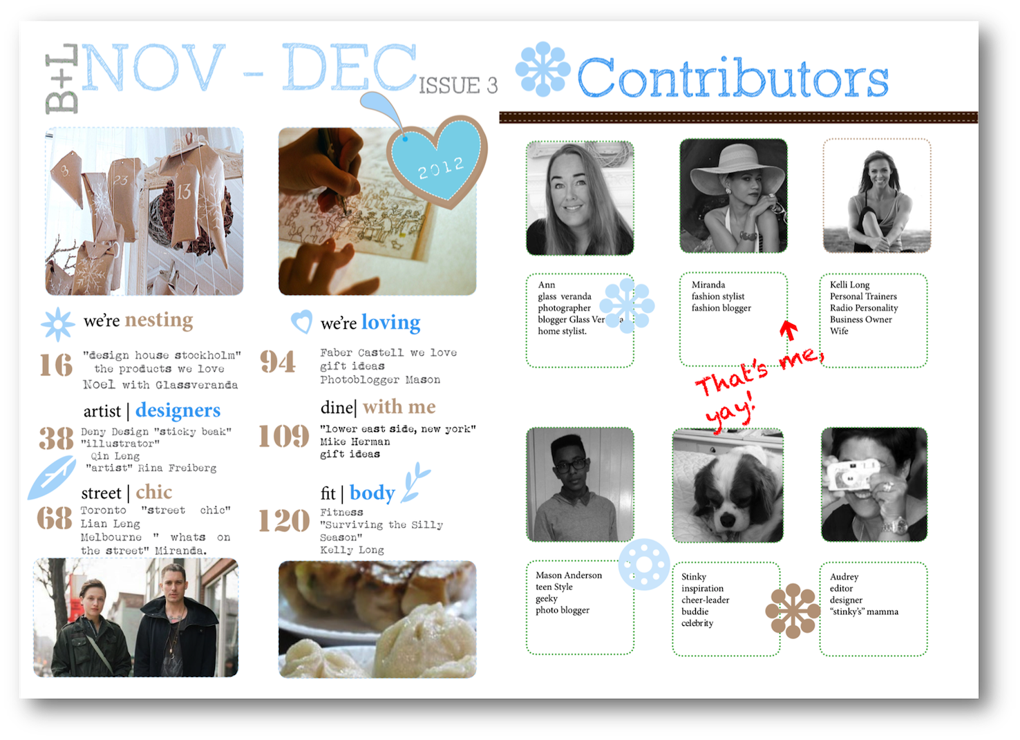 Bloggers who contribute to magazines