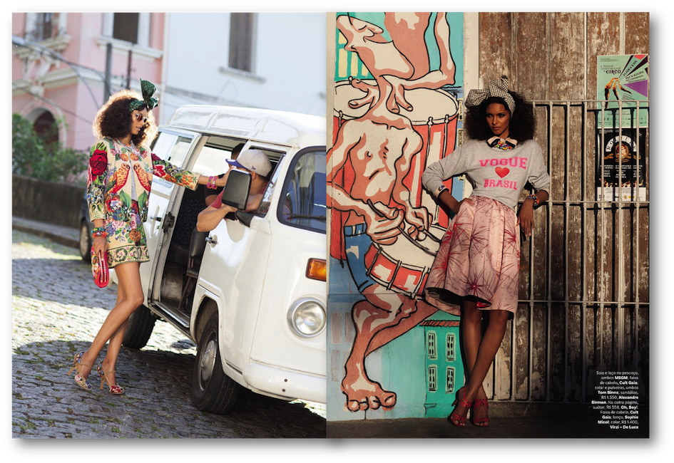 street editorials brazilian models
