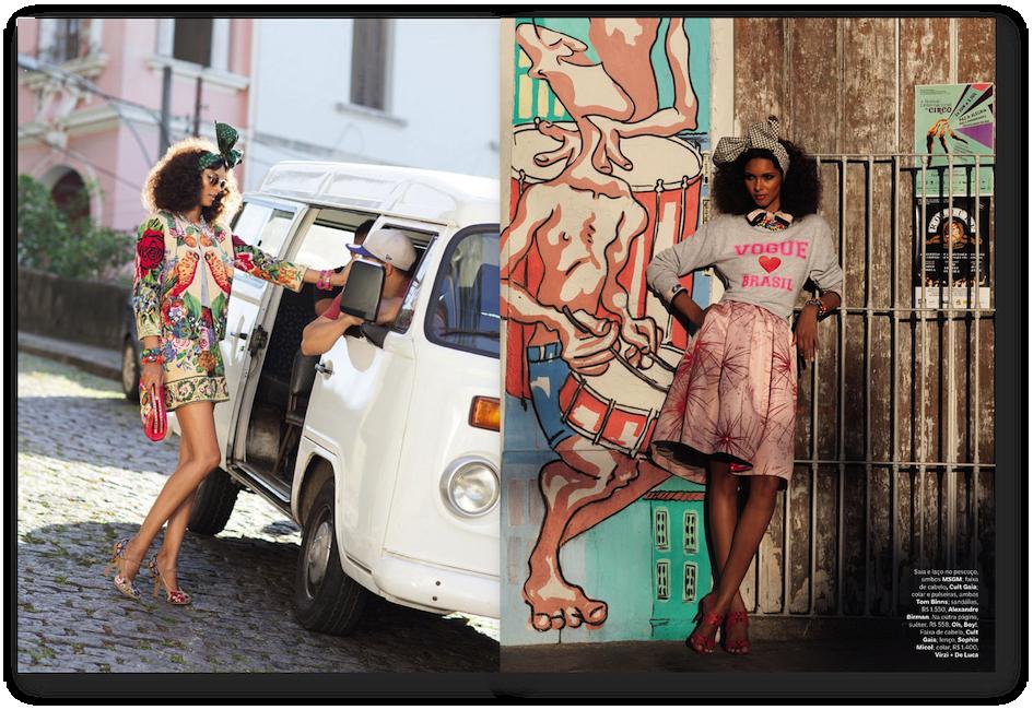 street editorials brazilian models