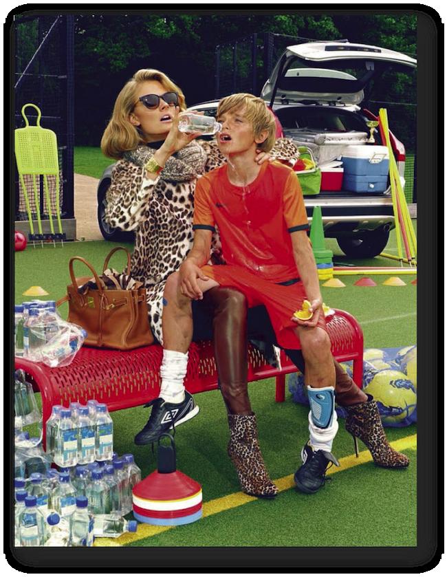 Vogue Italia editorials