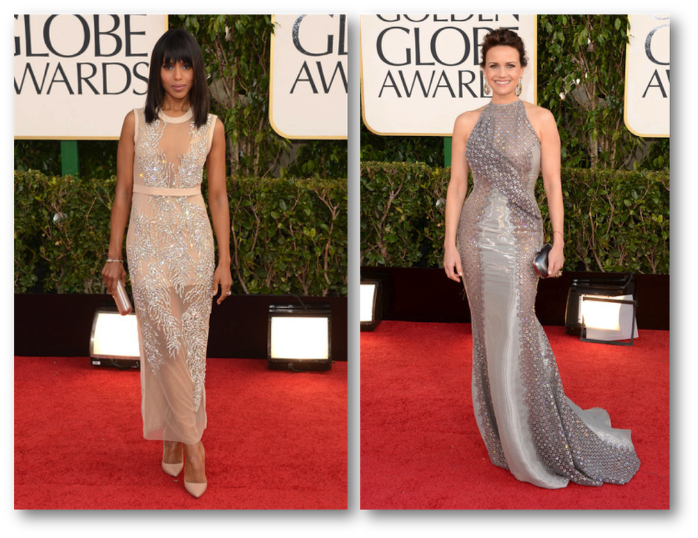 Kerry Washington Golden Globes, Carla Gugino golden globes