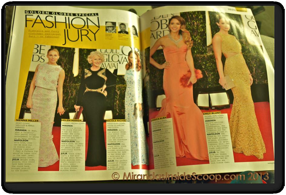 Grazia Magazine bloggers