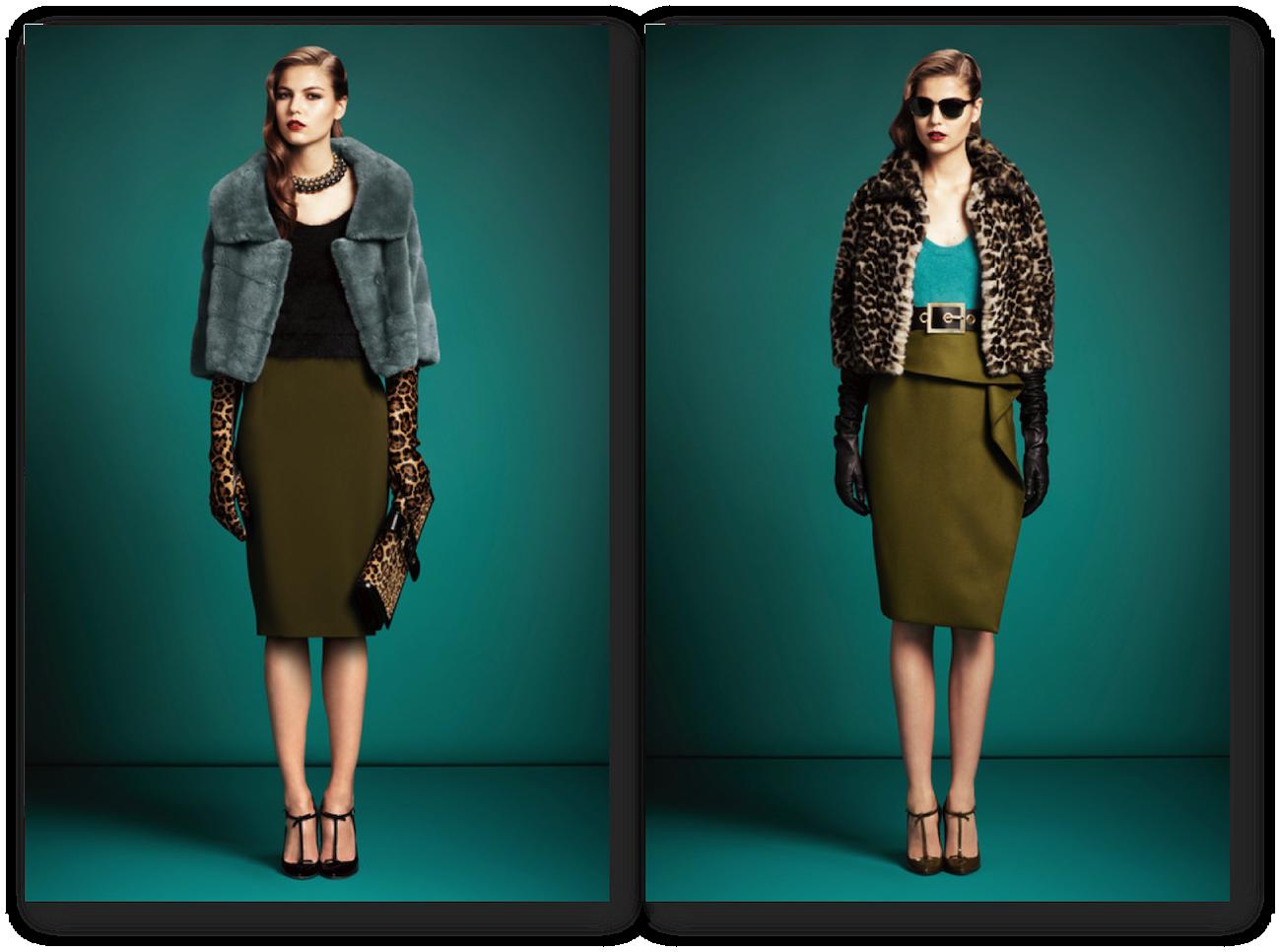 fashionable stylish professionals