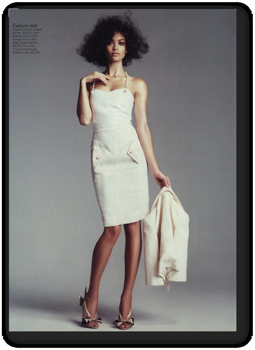 Shanina Shaik Vogue Australia