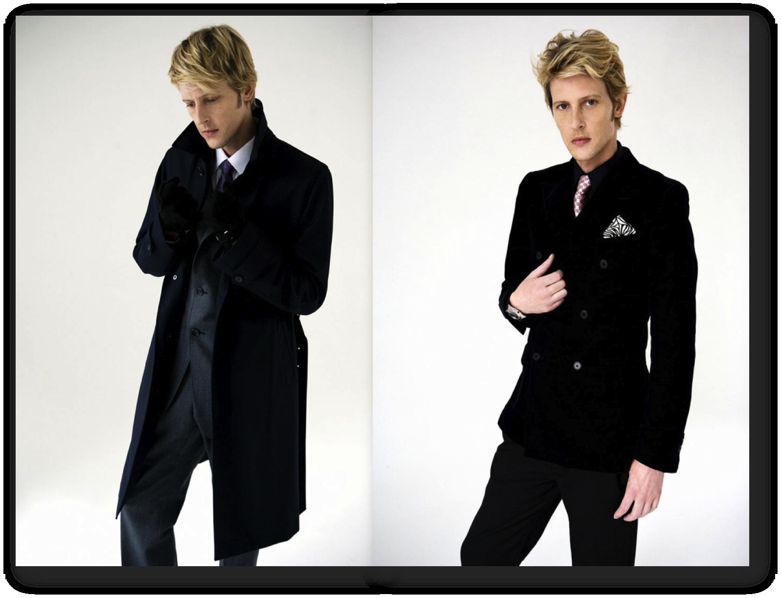 Gabriel Mann fashion style