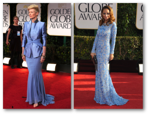 golden globes the best dressed 2013