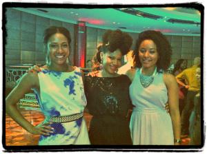 beautiful mixed race fashionistas