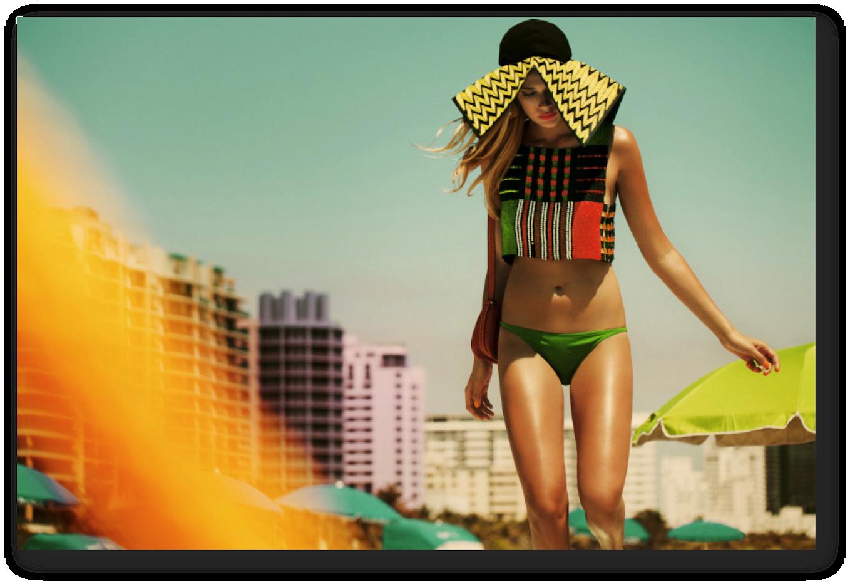 Summer swimwear trends 2013