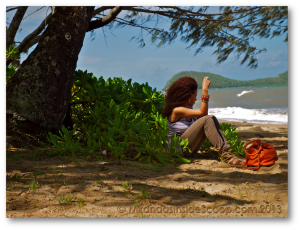 tranquil peaceful beach