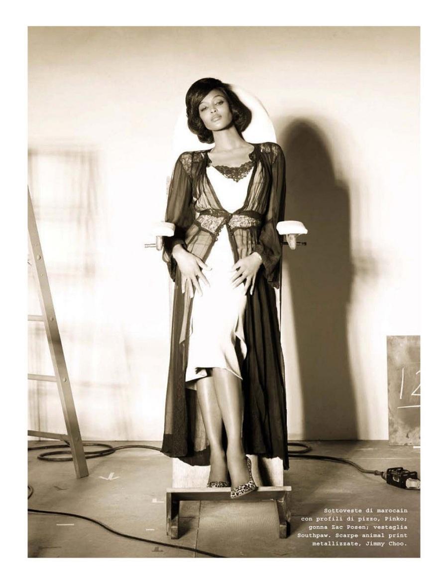 beautiful fashion in sepia