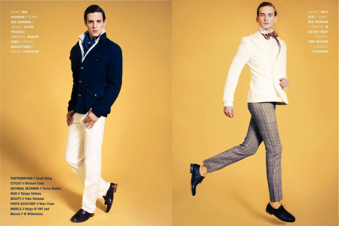 Preppy polished trends menswear 2013