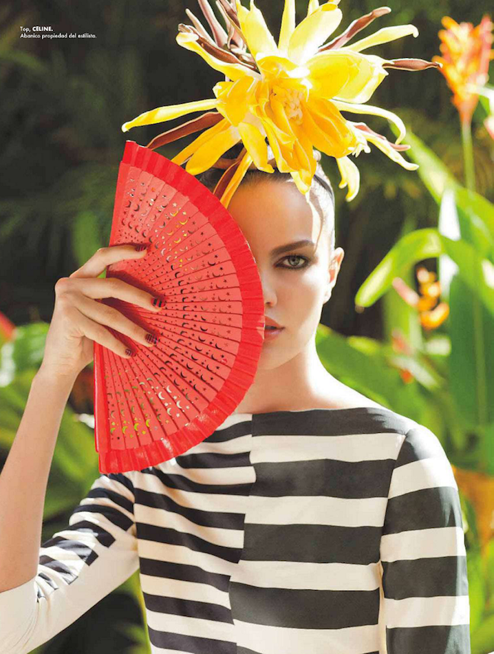 tropical fashion editorials