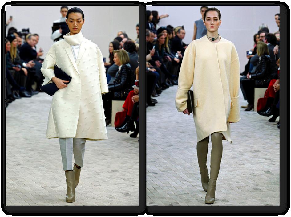 cream designer coats