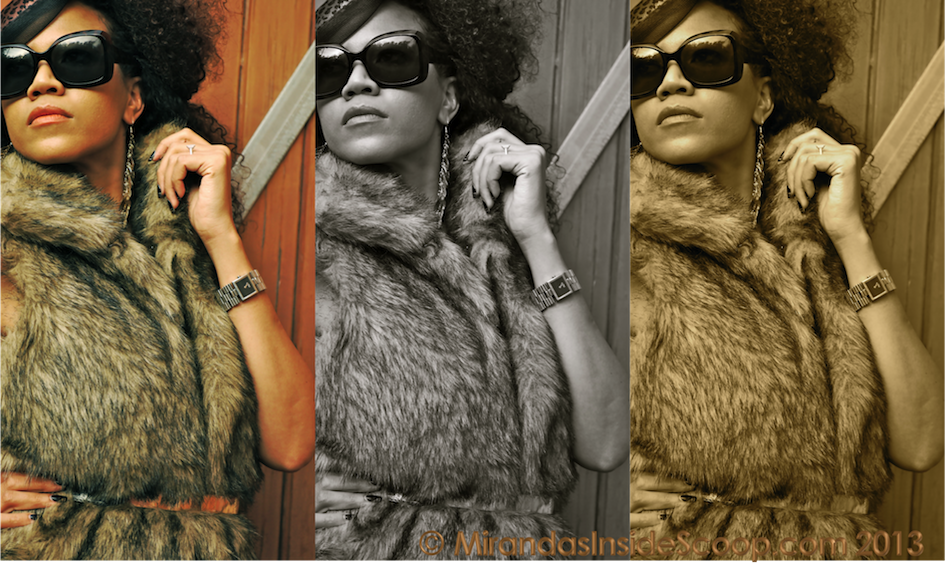 Fur editorials fashion