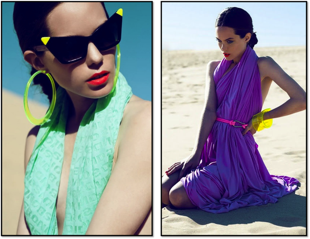 colour blocking trends 2013