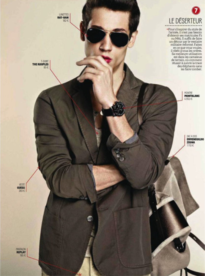menswear editorials 2013