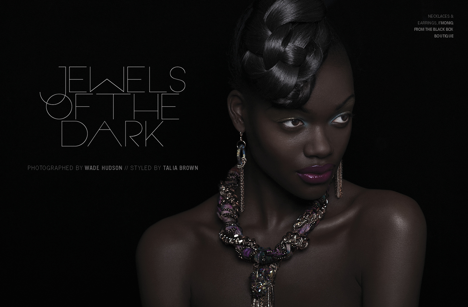 JEWELS OF THE DARK editorial
