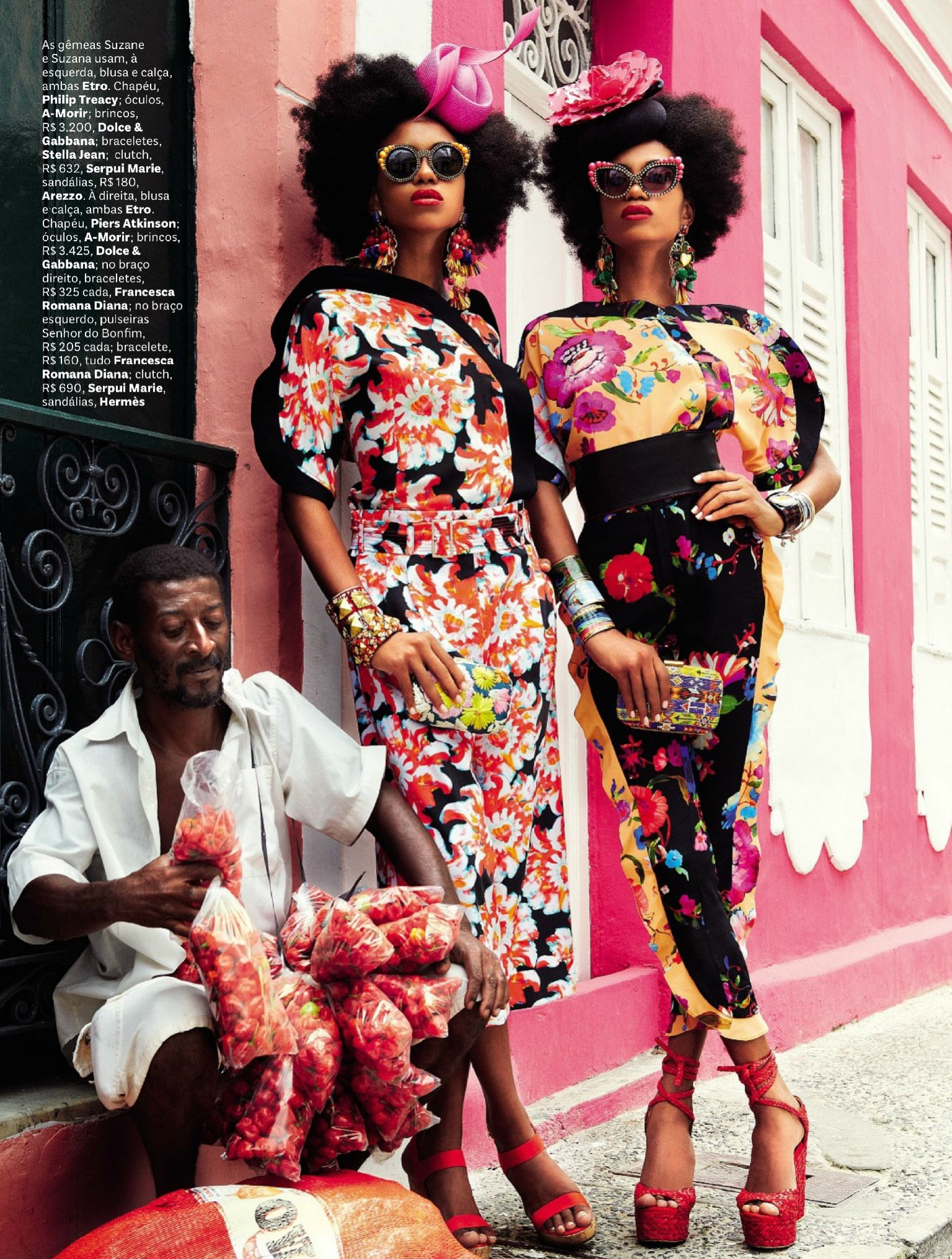 african inspired editorials
