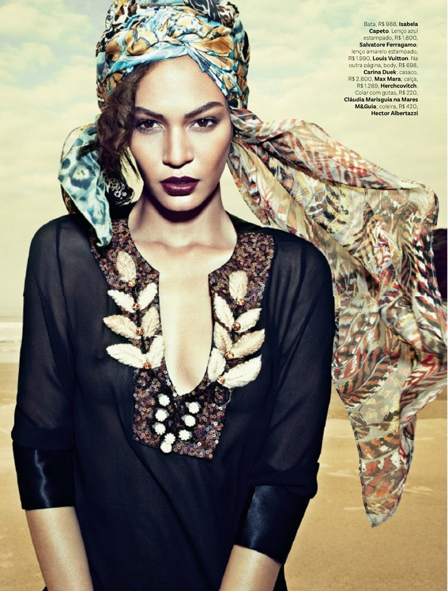 Joan smalls fashion style