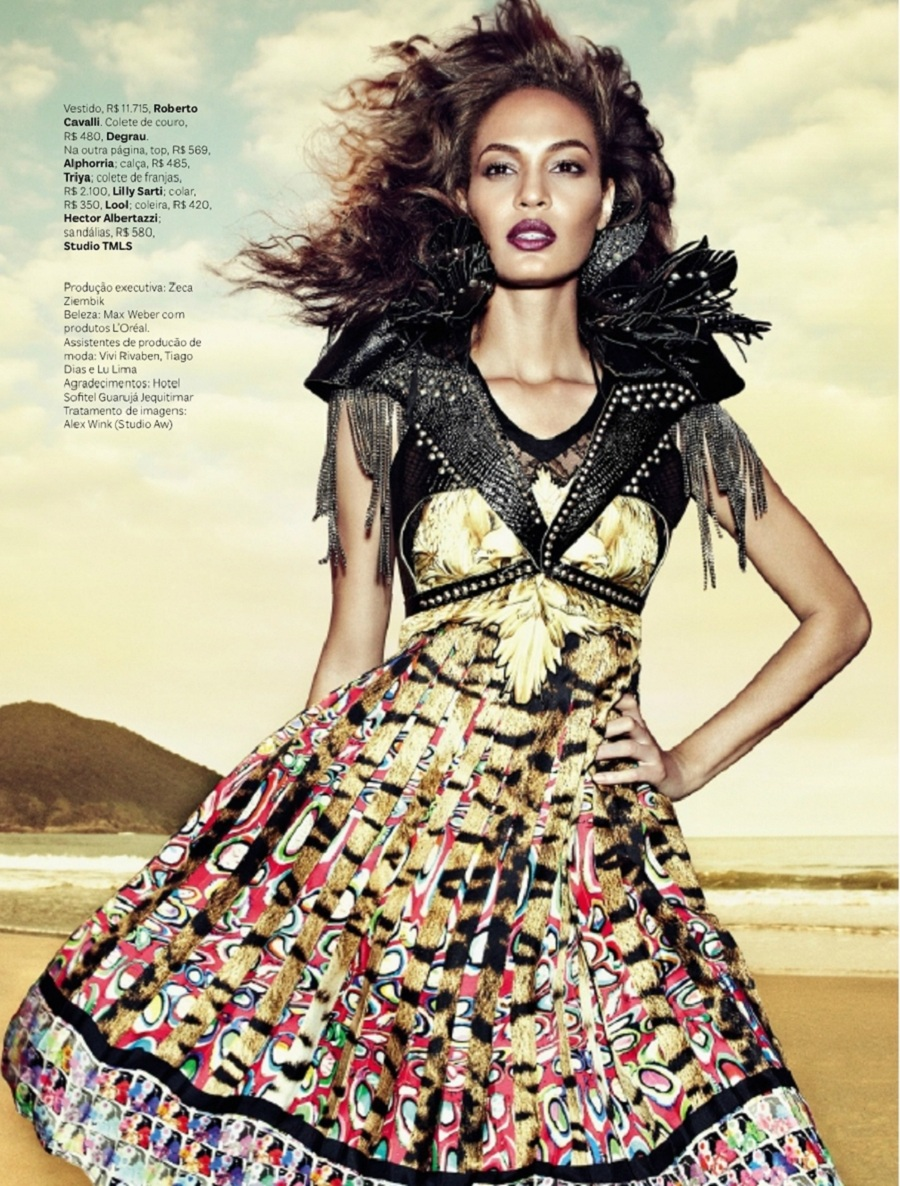 Joan Smalls personal style