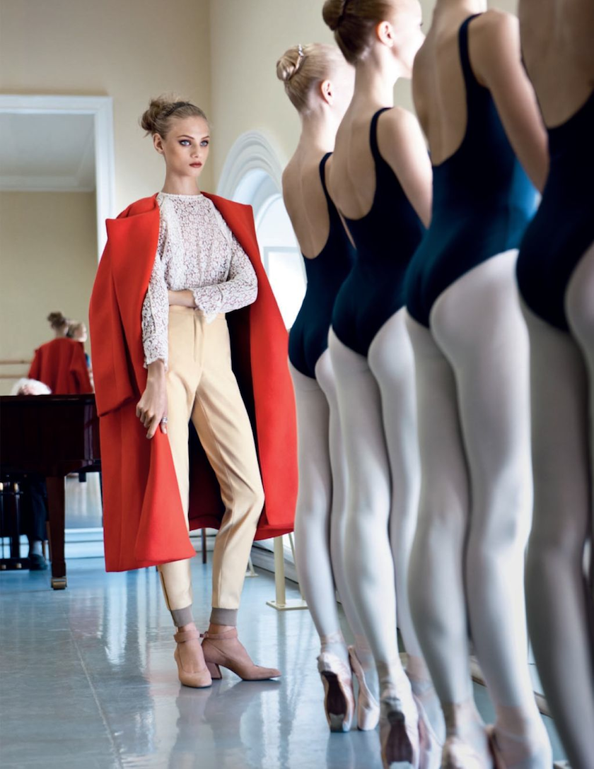 Model style Anna Selezneva