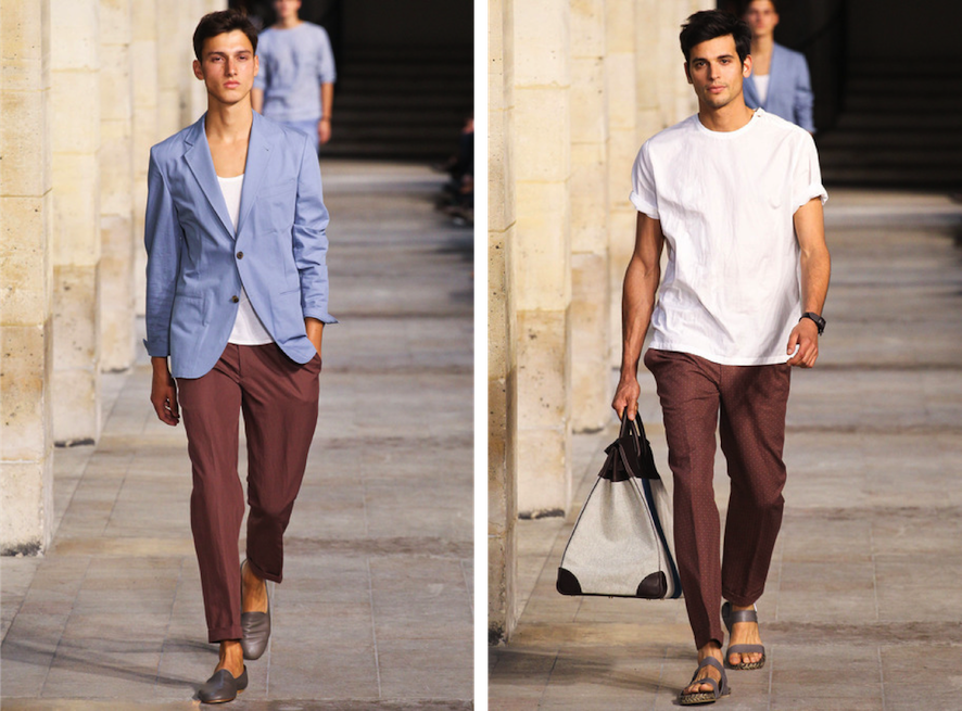 hermes menswear fashion