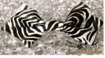striped monochrome bowtie