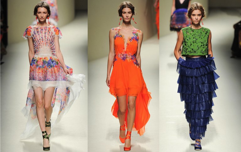 milan runway collections 2014