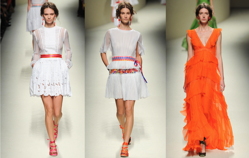 runway trends 2014 milan fashion week