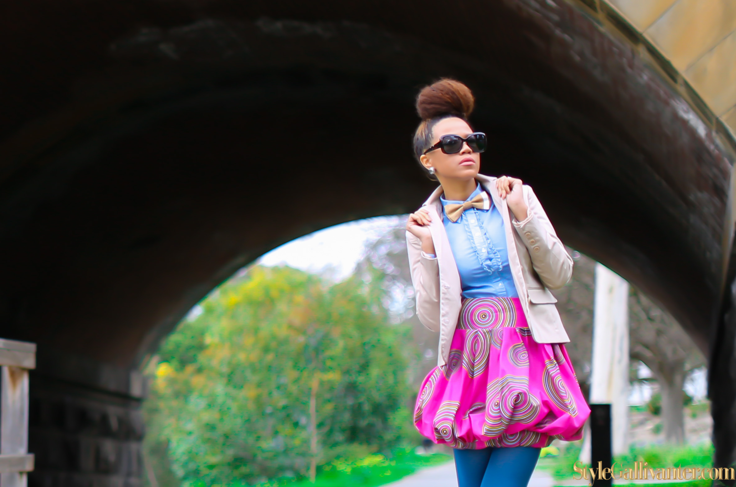 bowtie-editorials_pretty-girl-swag_top-fashion-blogs-africa_best-african-american-fashion-bloggers_coloured-stockings_colored-tights_pink-bubble-skirt_barbie-editorial_princess-editorial_cute-japanese-fashion-editorial-2