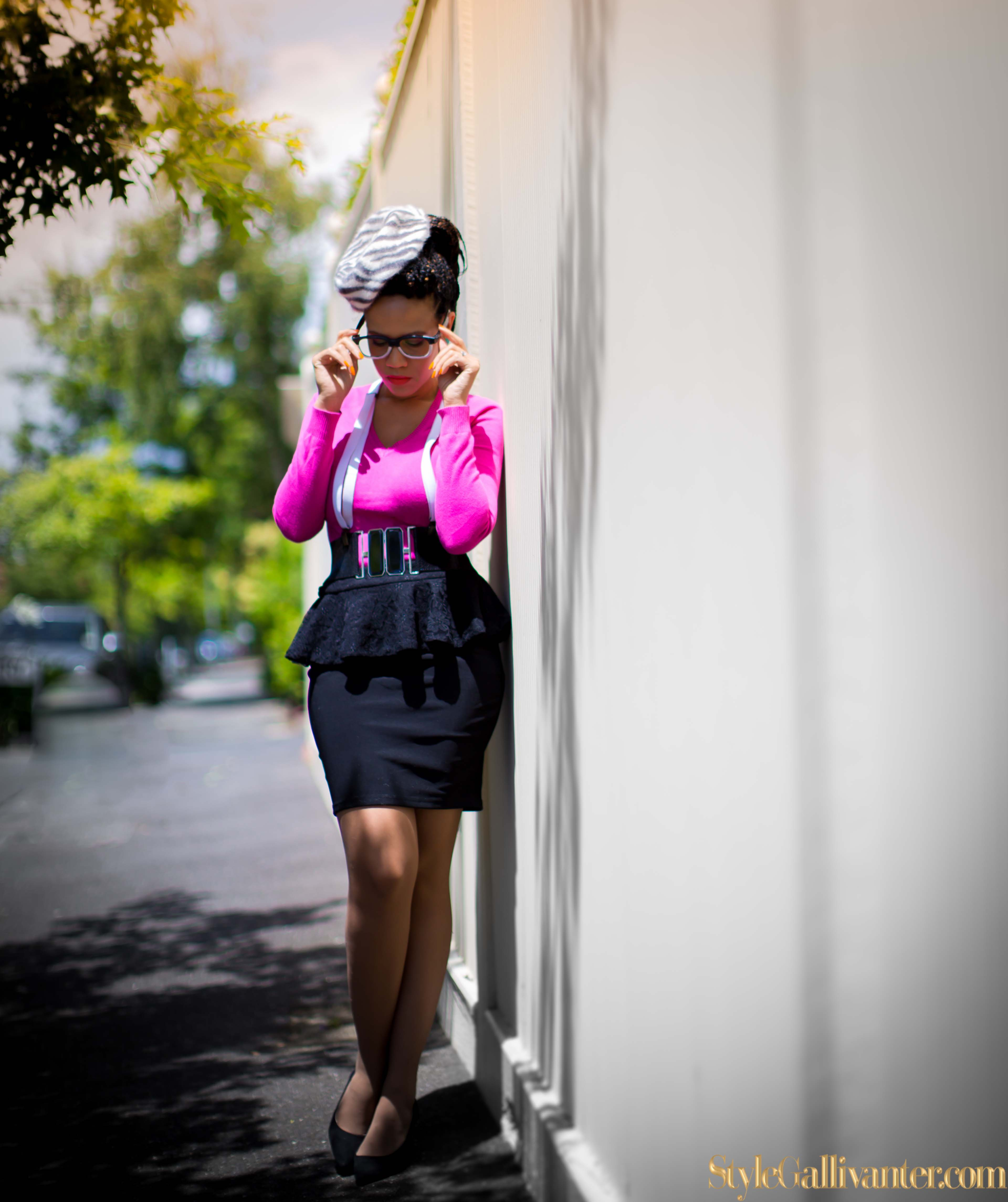 pink-and-black_melbourne's-most-interesting-fashion-bloggers_australia's-african-fashion-bloggers_africa's-best-fashion-blogger_valentine's-day-outfit-ideas_easy-box-braids-styles