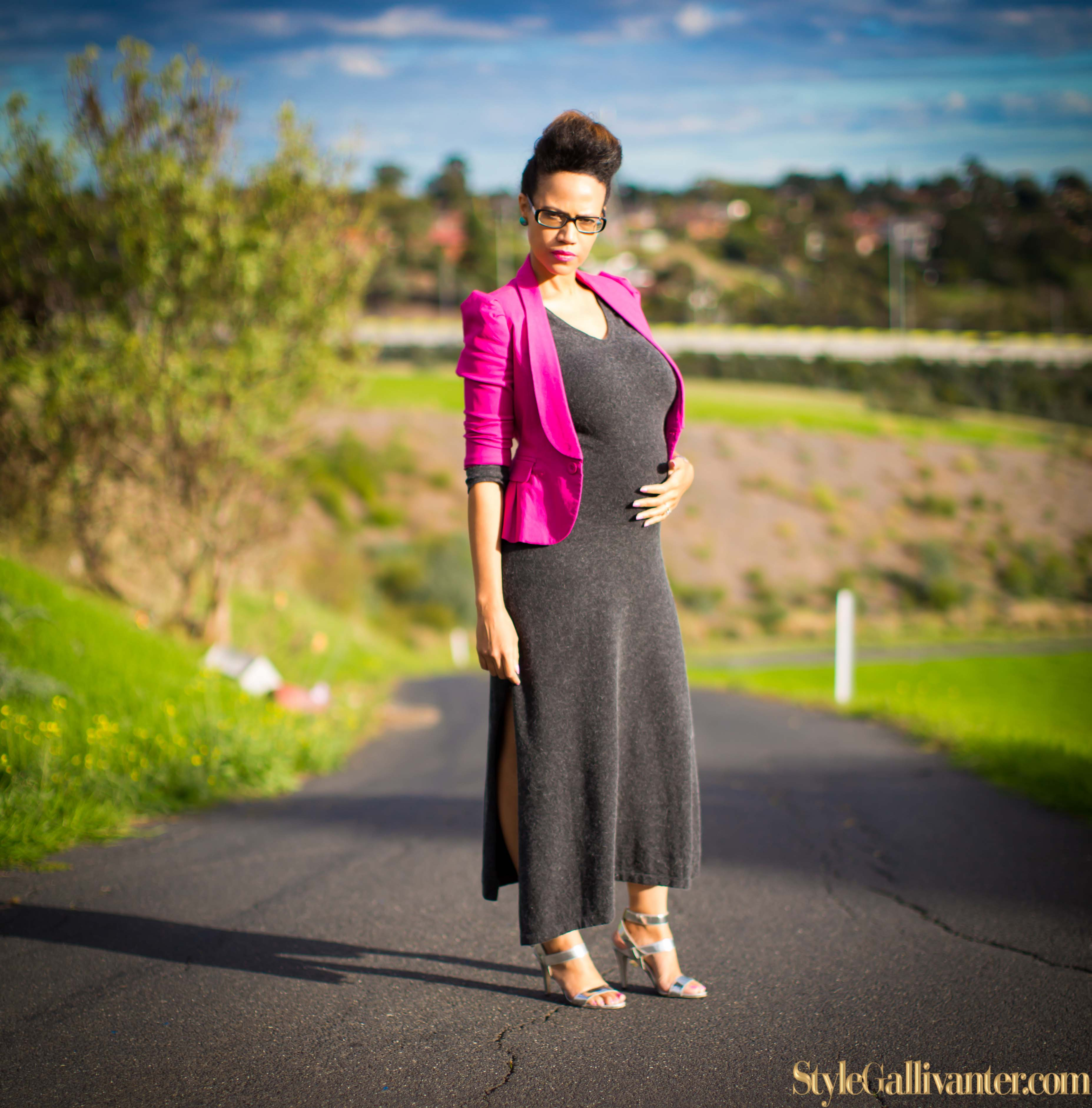 BUMP-MODELS-AUSTRALIA_GREY-AND-PINK_WINTER-DRESS-TREND_PREGNANT-FASHION-BLOGGERS-MELBOURNE_MELBOURNE'S BEST MUMMY-BLOGGERS_STRAPPY-SILVER HEELS-9